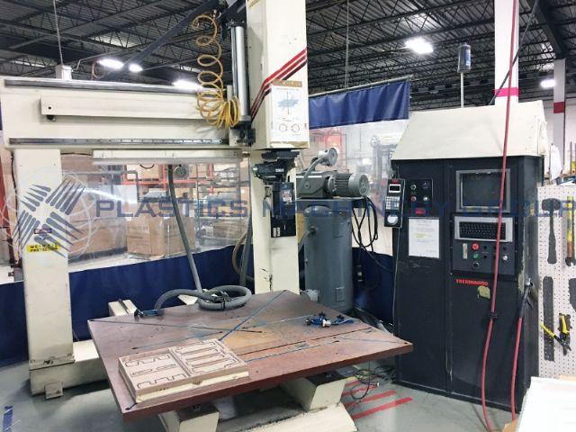 Thermwood 5' x 5' Single Table CNC Router