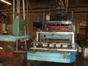 Uniloy 350 R3 4-Head Blow Molder