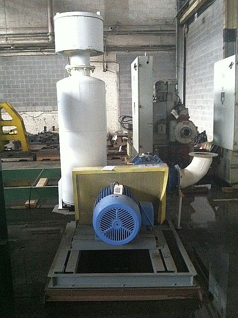 Pump-Polymer, 60 HP Roots Type