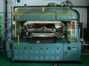 Jomar 3000 Injection Blow Molder