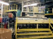 "2001 Cincinnati Milacron Sheet Line, 55"" wide finished sheet"