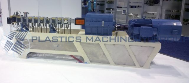 New 40mm Twin Screw Compounding Extruder