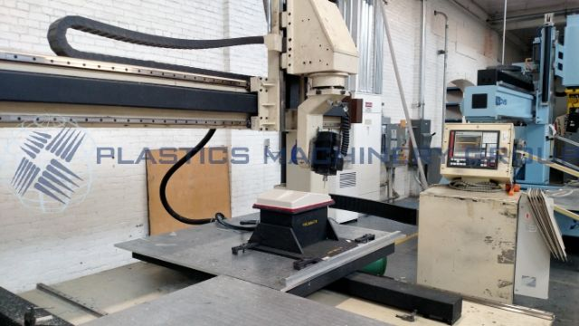 Motionmaster Twin 5x5 Table 5 Axis CNC Router