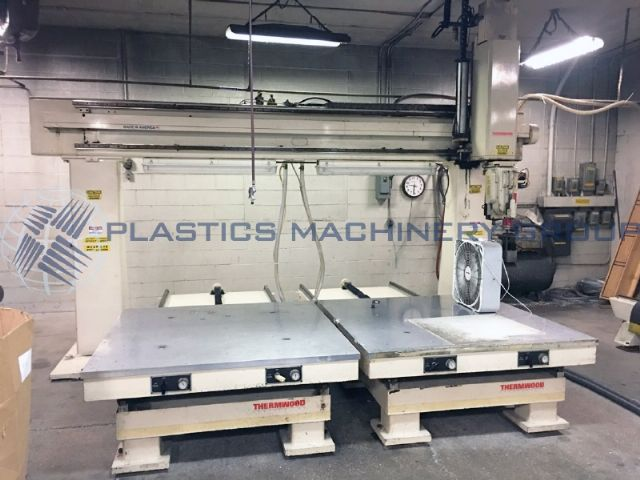 1992 Thermwood Twin 5x5 Table 5 Axis CNC Router