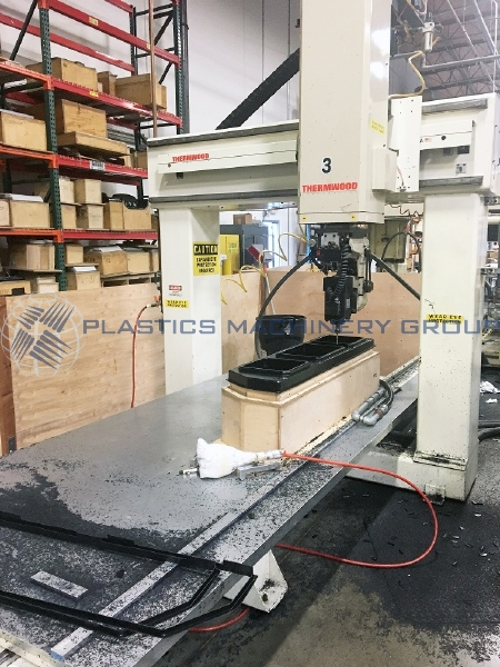 1994 Thermwood Single 5'x10' Table 5 Axis CNC Router