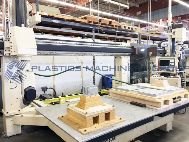 Motionmaster 5' x 5' Twin Table 5 Axis Router