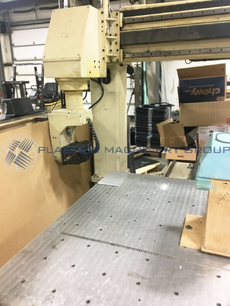 Motionmaster 5 axis CNC router 5x5 single table