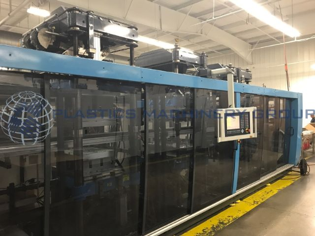 2001 Kiefel KMD 75 B/L form, punch, trim