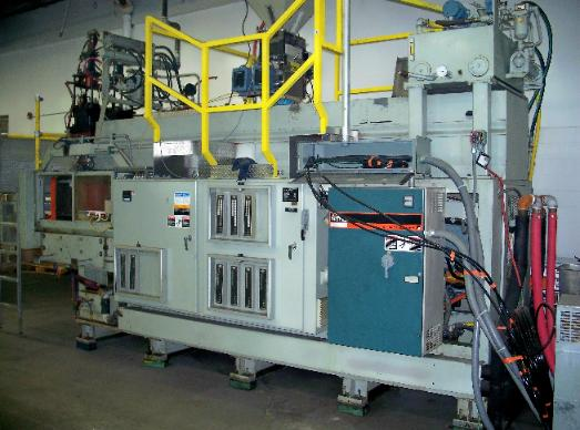 Uniloy 350 R2 2-Head Blow Molder