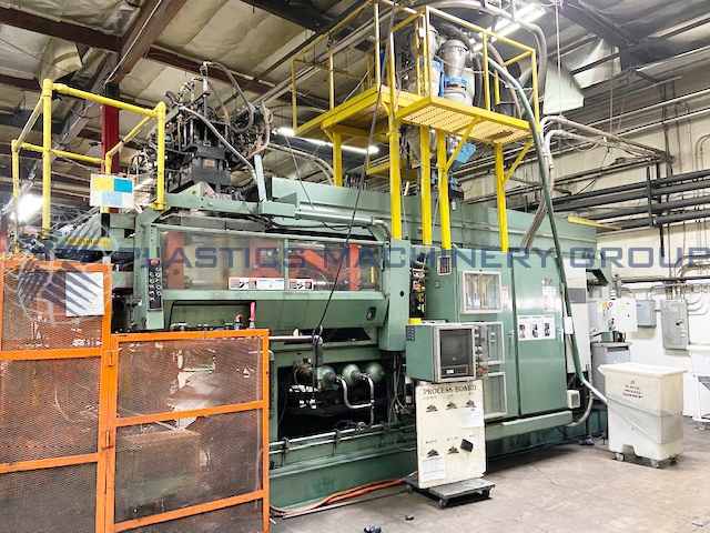 Uniloy 400 R20 4-Head Blow Molder