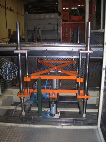 Sencorp 2500, NEW Up-Stacking System