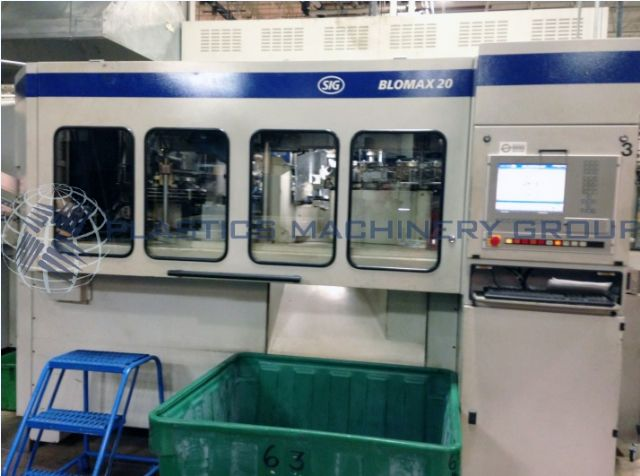 Sig Blowmax 20 PET Blow Molder