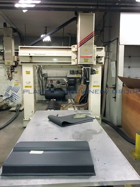 1995 Thermwood Single 4x8 Table 5 Axis CNC Router