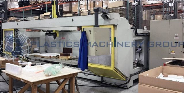 2002 CMS 5 axis CNC router 4'x8' table