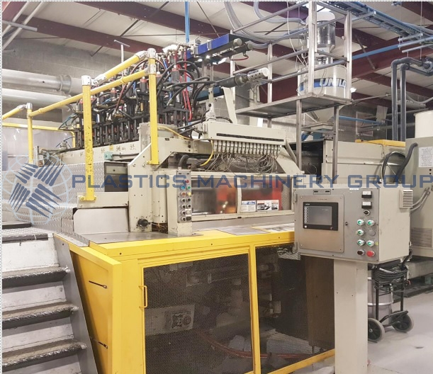 Uniloy 350R2 8-Head Blow Molder