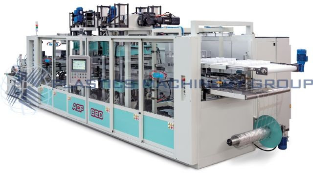 NEW, AMUT / Comi ACF 820 Thermoformer