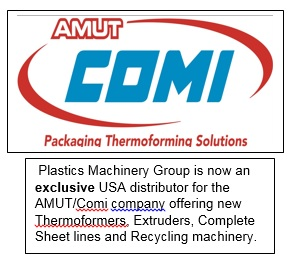 NEW Amut Comi ACF 820 Roll Fed Thermoformer