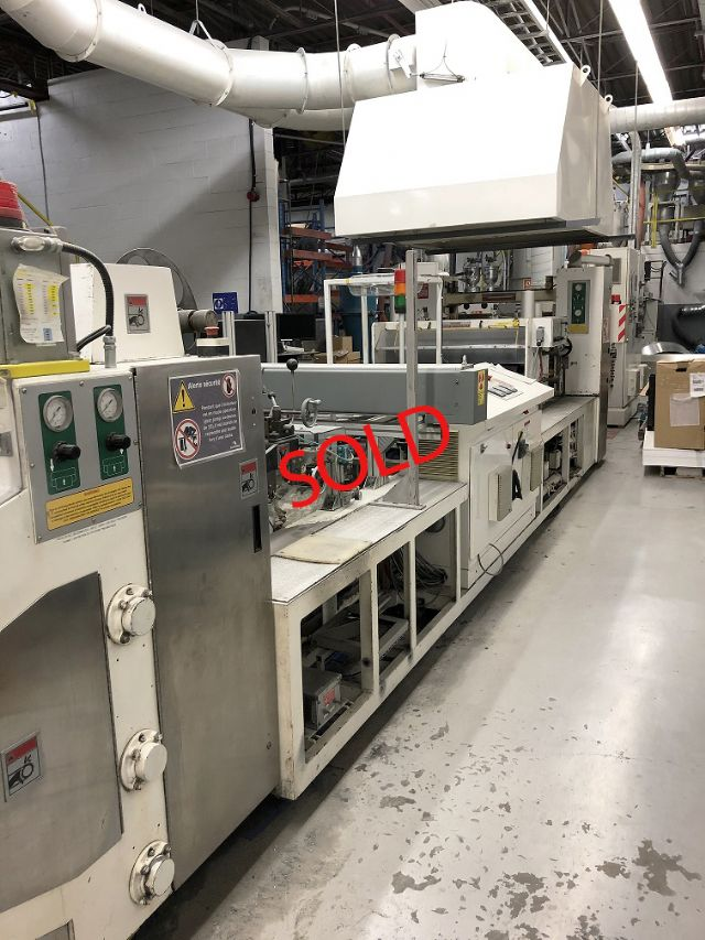 2005 Welex, Complete 41 Wide Sheet Line