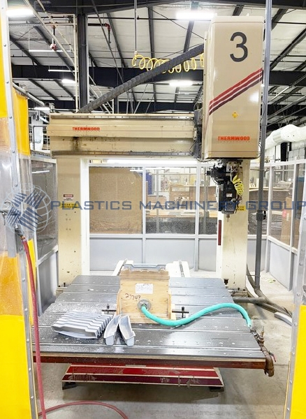 1997 Thermwood Single 5 x 5 Table 5 Axis CNC Router