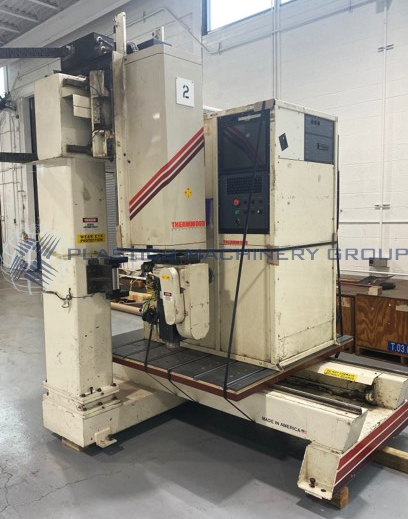 1996 Thermwood Single 5 x 5 Table 5 Axis Router