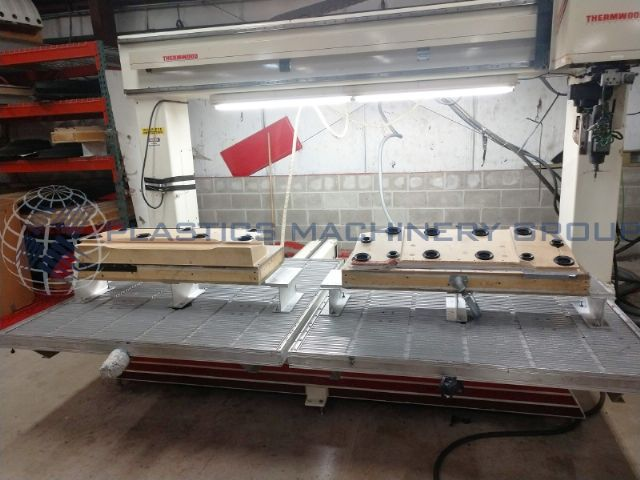 2003 Thermwood C 67DT 5x5 twin table