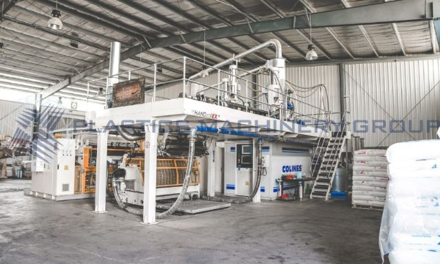 2013 Complete 1000mm Wide Colines Stretch Film Line